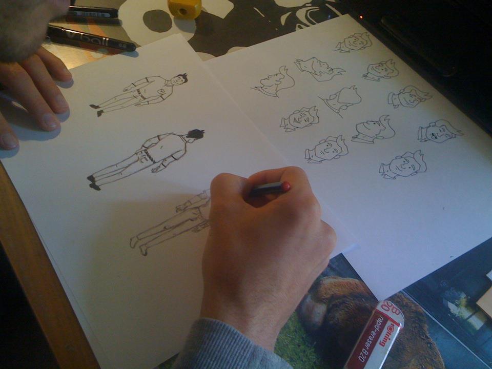 Création storyboard pour production vidéo