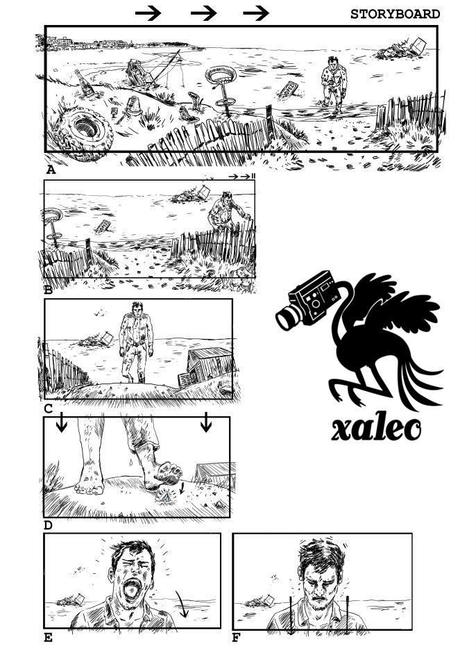 Xaleo / Léo Meslet storyboard