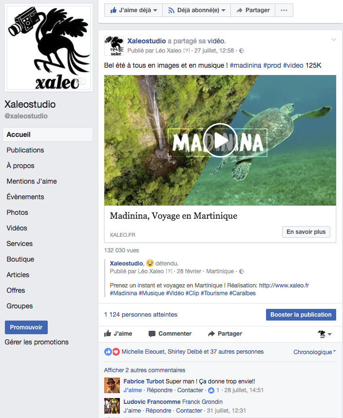 prestation-vidéo-xaleo-facebook-leo-meslet