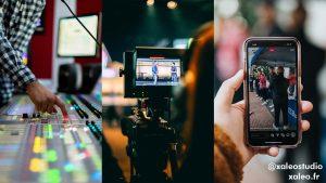 Livestream vidéo avec vos téléphones portables pour vos évènements.