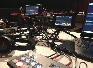 Studio de podcast audio et vidéo pour votre entreprise.